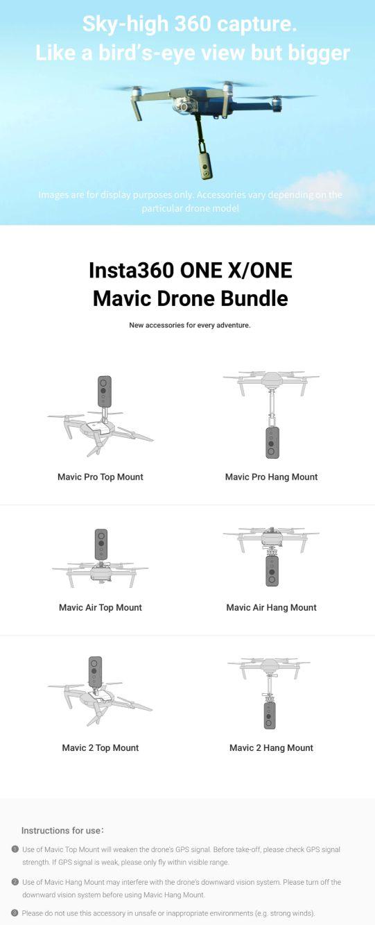 Insta360 Mavic Pro Bundle